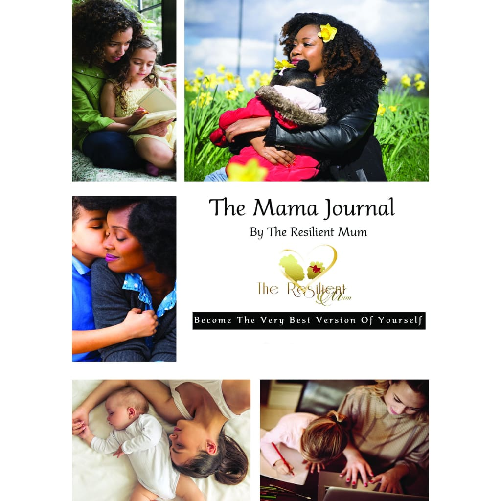 The MAMA Journal created and designed by The Resilient Mum.
