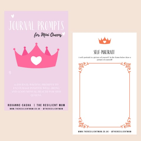 My Journal Prompts For Mini Queens