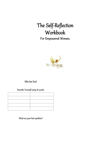 The Self-Reflection Workbook | Women