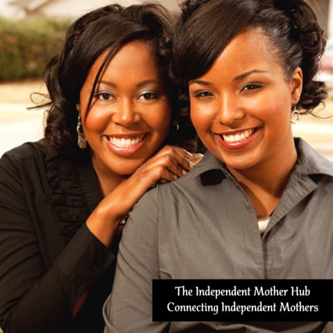 two black women hugging, The Resilient Mum