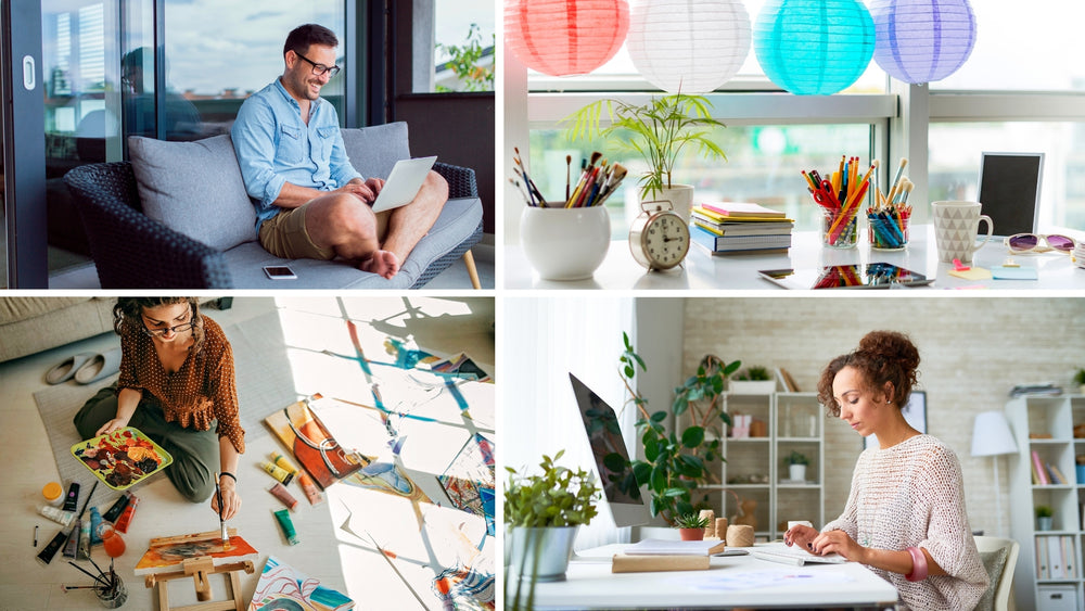 7 great tips for making your home a creative space