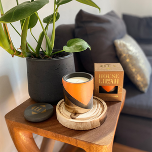 House of Lilah - Slow Motion, Concrete Soy Candle