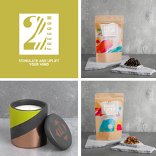 Load image into Gallery viewer, House of Lilah - Freedom Gift Set - Concrete Soy Candle & 2 x Tea