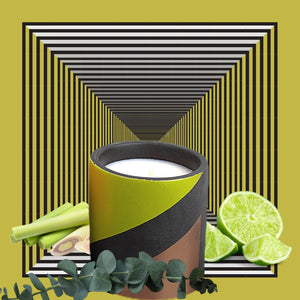 House of Lilah - Sun in a Pot, Concrete Soy Candle