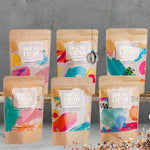 House of Lilah - Tea Festival Gift Set - 6 x Loose Leaf Tea + Tea Strainer