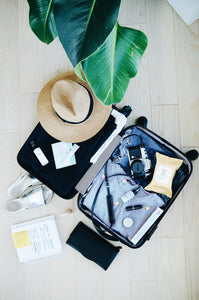 Travelling Light – ten tips for packing less than the kitchen sink this summer: