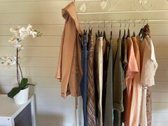 A capsule wardrobe for holiday packing