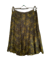 secondhand clothes example silk skirt