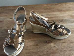 Clarks Wedge Sandals Size 3