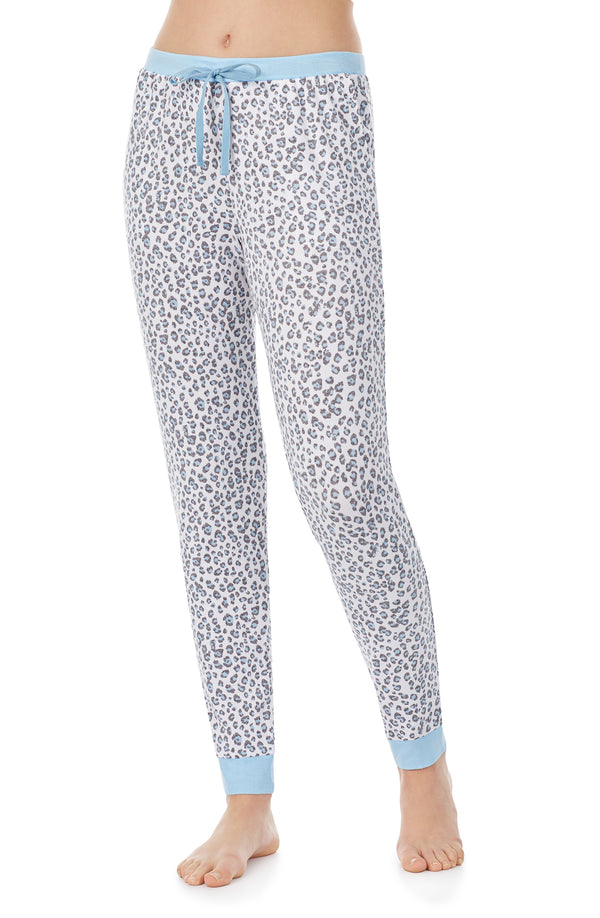 Blue Animal Jogger Pj Pant