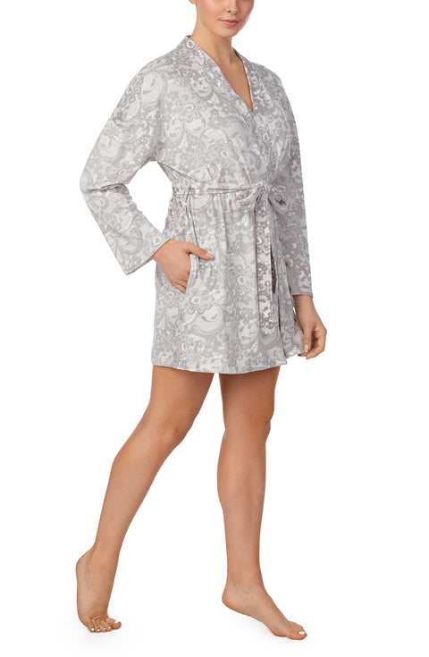 Long Sleeve Pj Robe