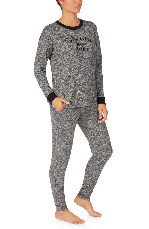 Long Sleeve Pullover & Jogger Pj Set
