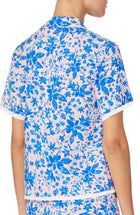 Short Sleeve Notch PJ Top