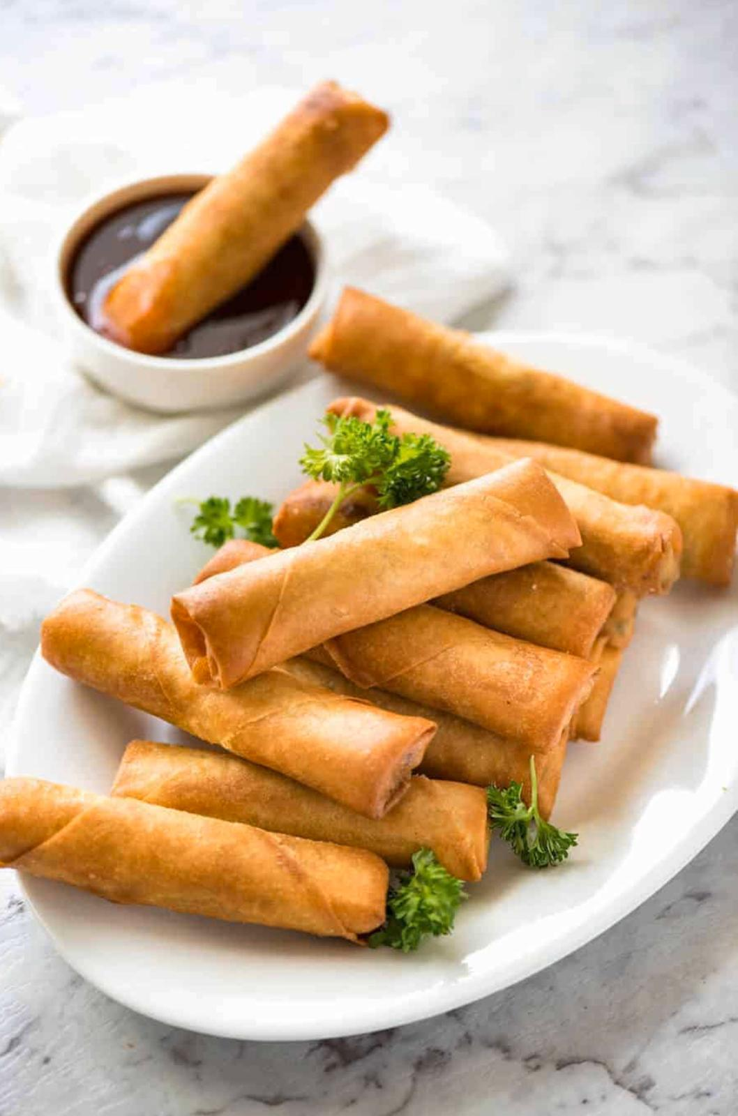 M&M Catering - Chicken Spring Rolls  - 12 count