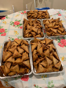Ebrahim kitchen - Beef/Chicken Samosa  - 12 count