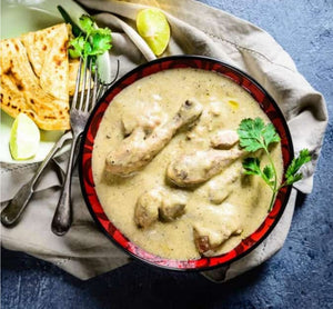 READY TO EAT - Chicken white korma - 4 Serving