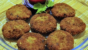Ebrahim kitchen - Kheema Cutlets - Burger  - 12 count