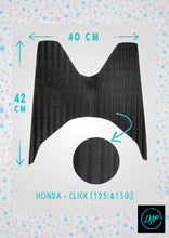 Load image into Gallery viewer, Honda Click Rubber Mat for Motorcycles by LYB