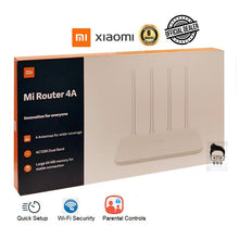 Load image into Gallery viewer, Xiaomi Mi Router 4a AC1200 Dual Band 64mb Memory with 6months Local Warranty r4ac