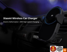 Load image into Gallery viewer, Xiaomi 20W Max Electric Auto Fit Sensor Qi Charging Wireless Car Charger with 3months Local Warranty