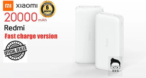 Redmi 20000mAh 18w Powerbank Fast Charging Dual Input & Output USB-C with 6months local warranty