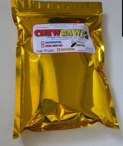 CHEWRAWS®️ RAW DOG FOOD