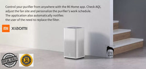 Mi Air Purifier 2H True HEPA Filters Real-time AQI Monitoring Mi Home App Control 1yr local warranty