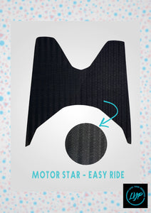 Motor Star Easy Ride Rubber Mat for Motorcycles (LYB)