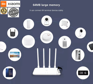 Xiaomi Mi Router 4a AC1200 Dual Band 64mb Memory with 6months Local Warranty r4ac