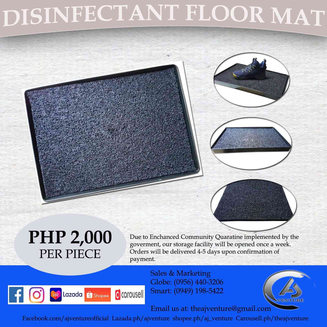 Disinfectant Floor Mat
