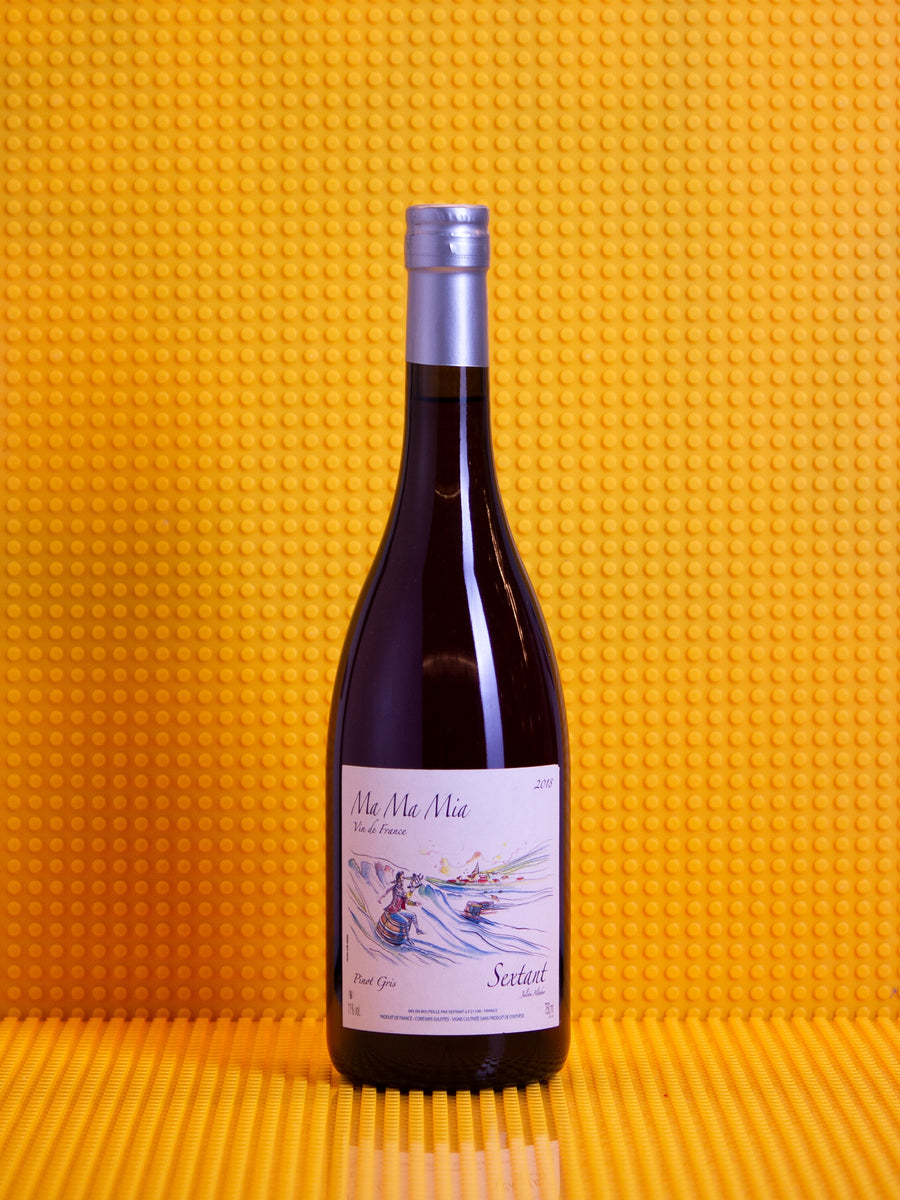 Domaine Sextant, Julien Altaber Ma Ma Mia, Pinot Gris, 2018