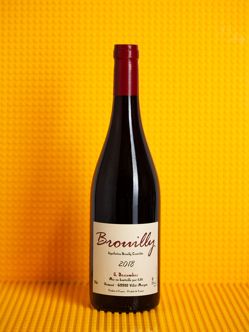 Georges Descombes, Brouilly, Gamay, 2018