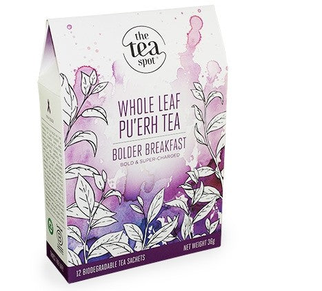 The Tea Spot - Bolder Breakfast - Box of 12 Sachets