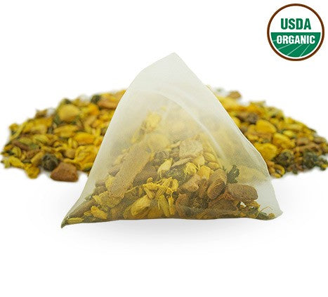 The Tea Spot - Organic Turmeric Tonic - Box of 12 Sachets