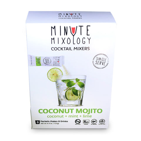 minute mixology - Coconut Mojito