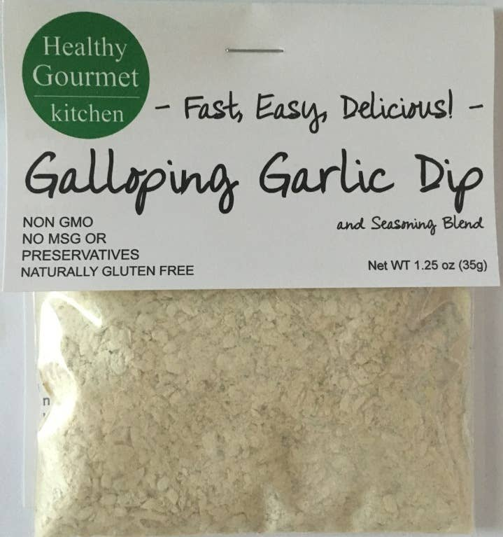 Galloping Garlic Horseradish Dip Mix