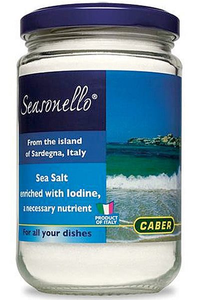 Fine Sea Salt Iodine