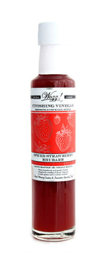 Strawberry Rhubarb Finishing Vinegar