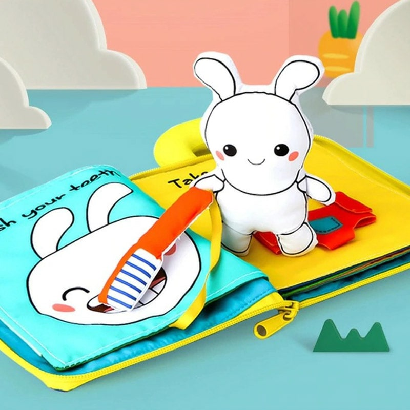 3D Baby Fabric Toy Books - Ren's Home