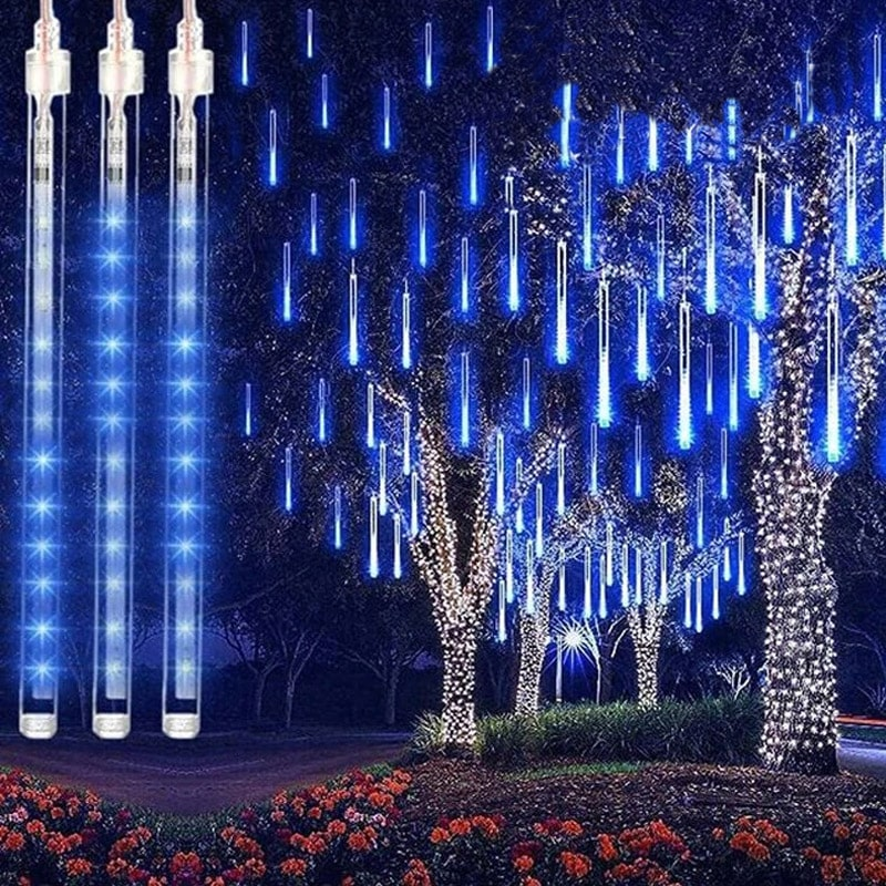 Christmas Decoration - LED Meteor Fairy Lights - Ren's Homelights