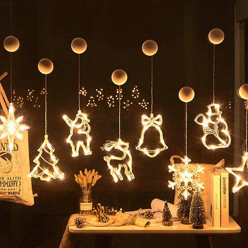 Christmas LED Curtain/Window Hanging Lights - Ren's Home
