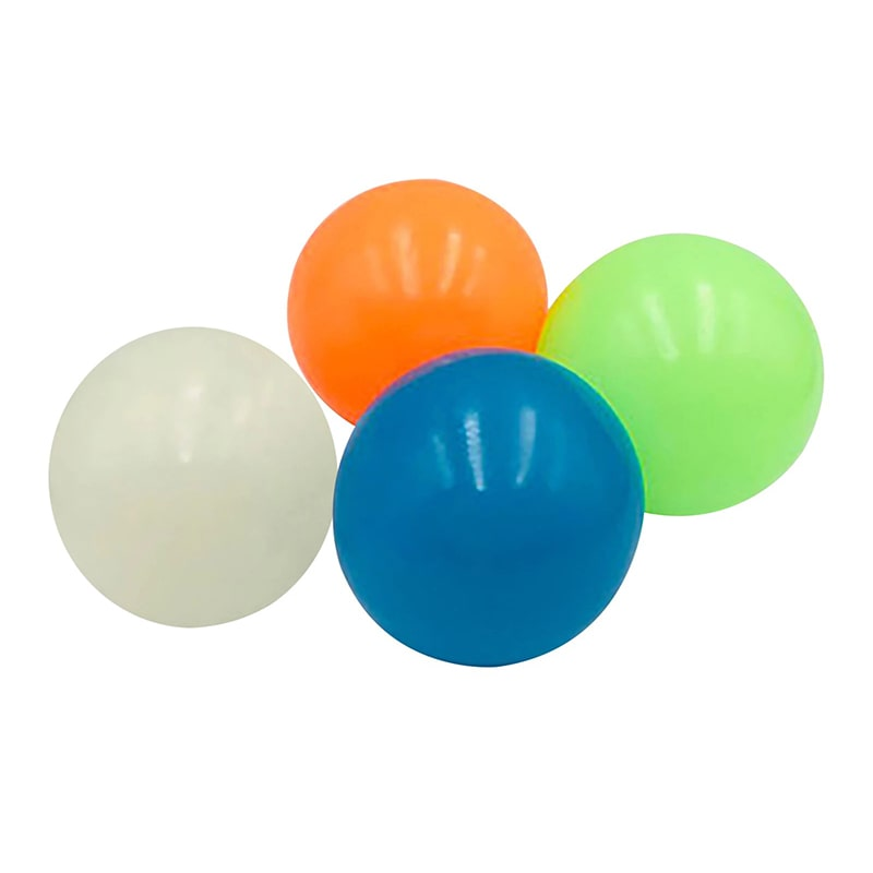 4 pcs Glowing Sticky Balls