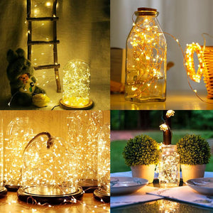 USB Remote Control LED Firefly Bunch Lights - Ren's Home