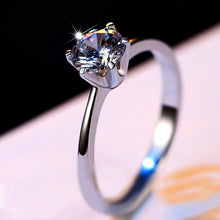 Load image into Gallery viewer, Luxury 925 Sterling Silver Diamond Ring