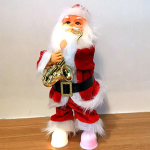 Santa Claus Playing Instruments