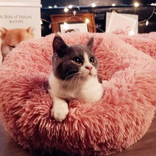 Load image into Gallery viewer, Warming Round Plush Pet Bed - Ren's Home