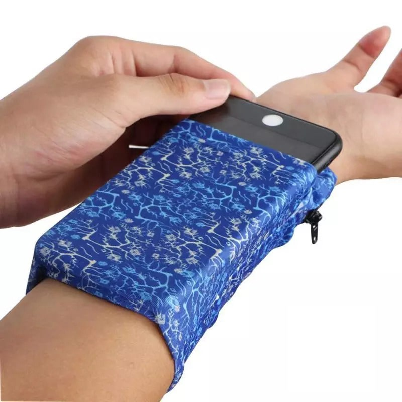 Wristband with Wallet Pocket