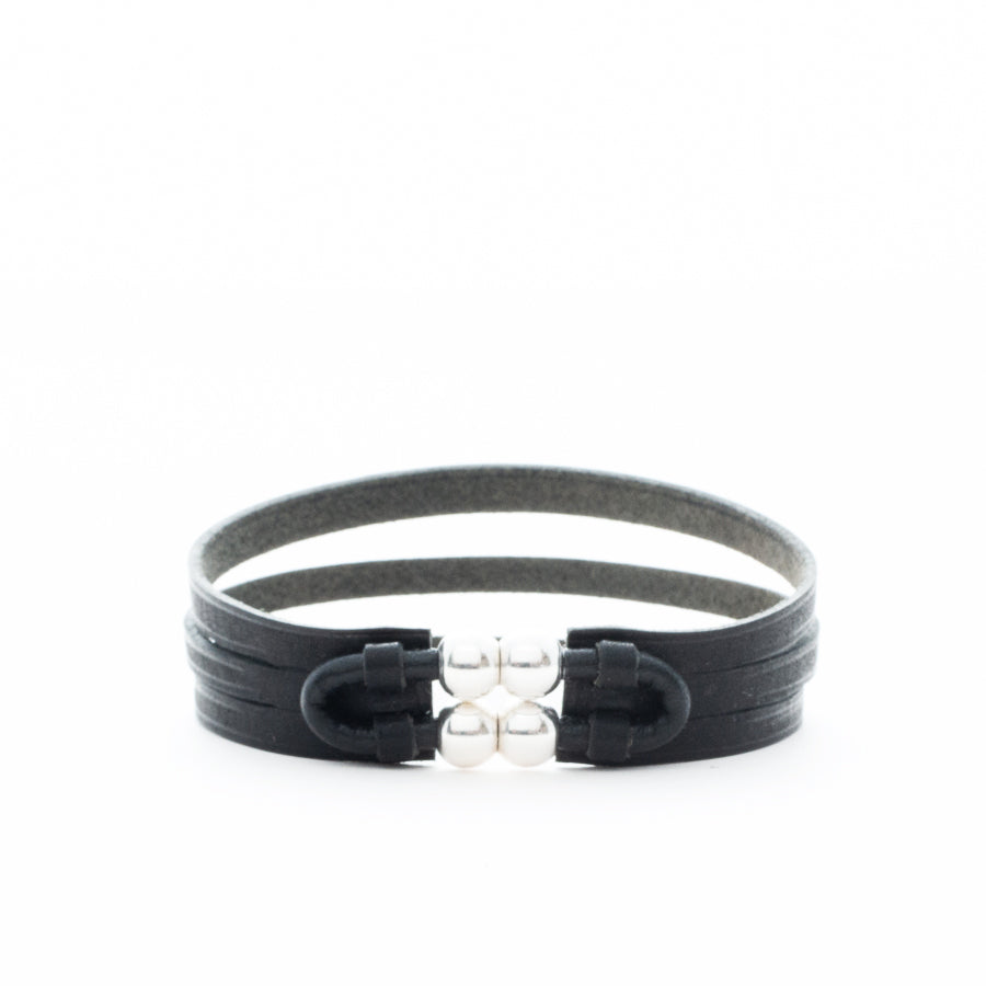 Leather Wrap Bracelet Unisex