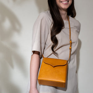 """Sol"" Cross body I with Leather Shoulder Strap"