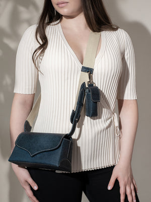 """Star"" cross body II with Cotton Webbing shoulder Strap"
